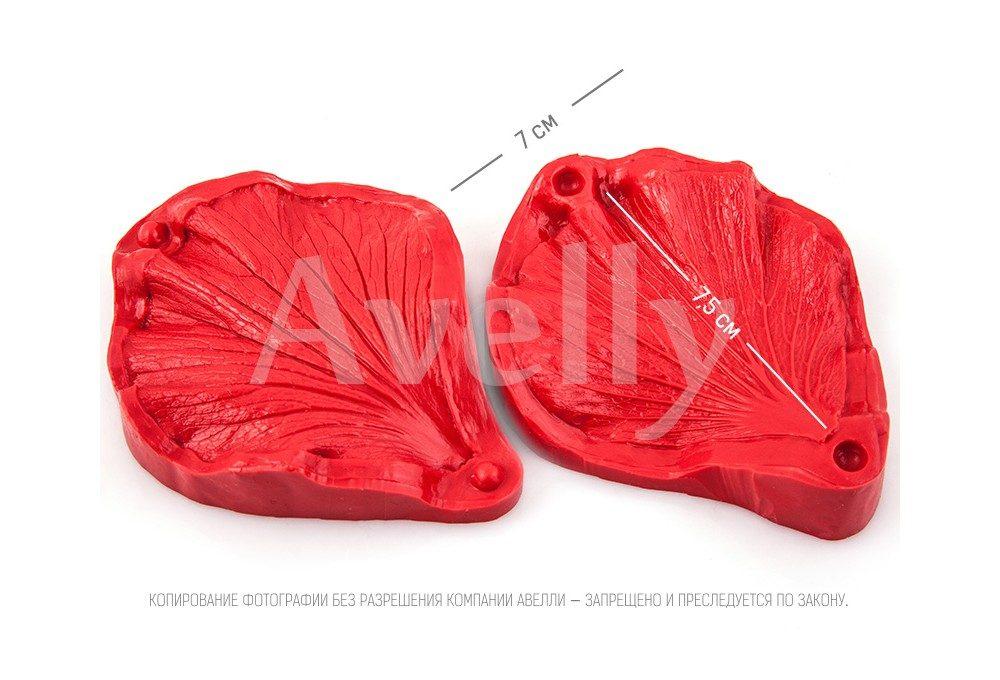 силиконовый вайнер лепесток гибискуса