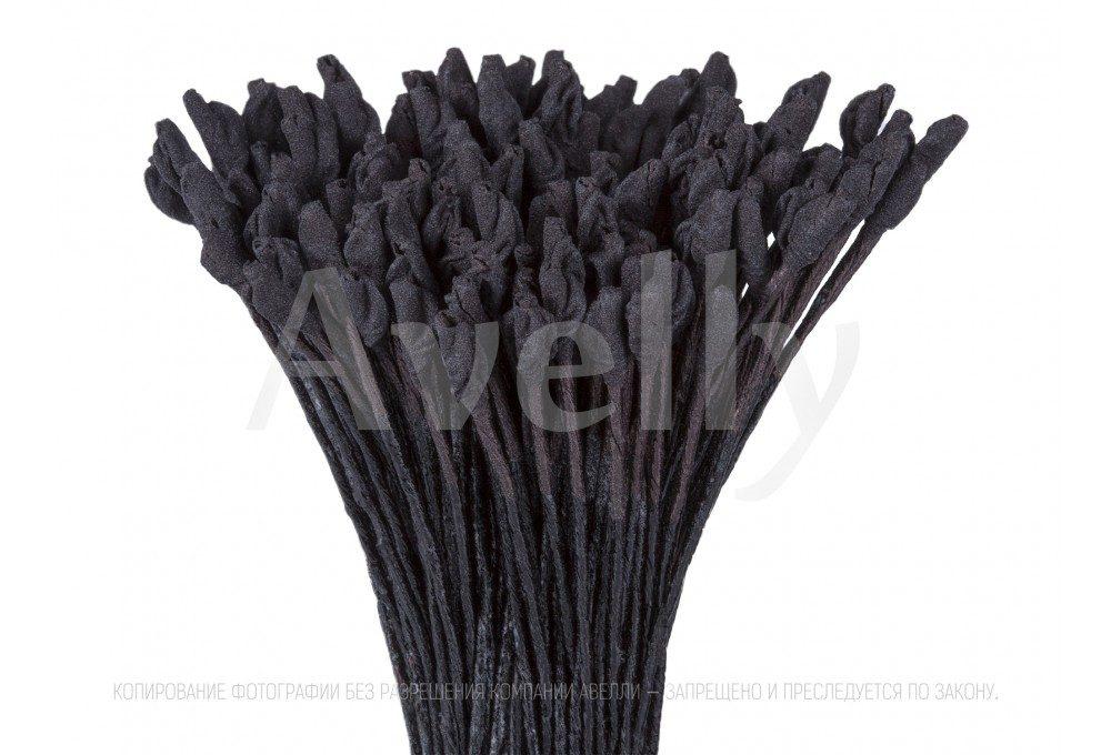 Японские тычинки для цветов, черные для розы крупные