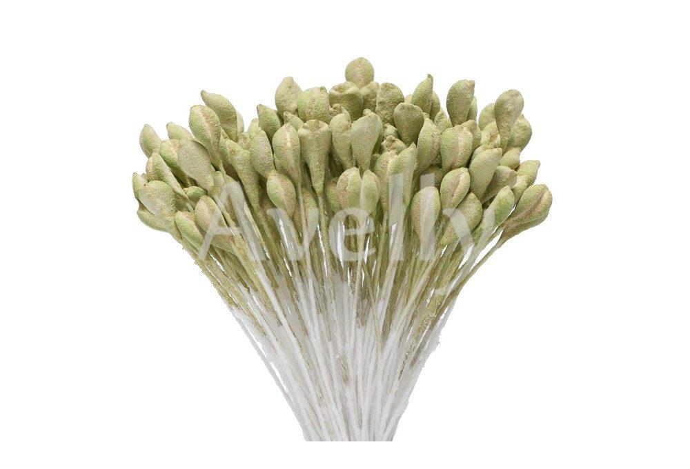 """Тычинки для цветов зеленые """"дубовая роща"""""""