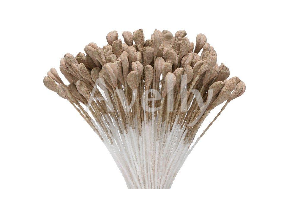 """Тычинки для цветов коричневые """"хмели-сунели"""""""