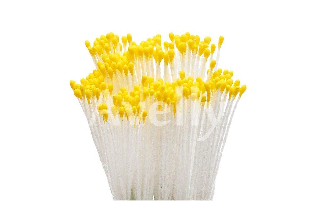 тычинки для цветов желтые