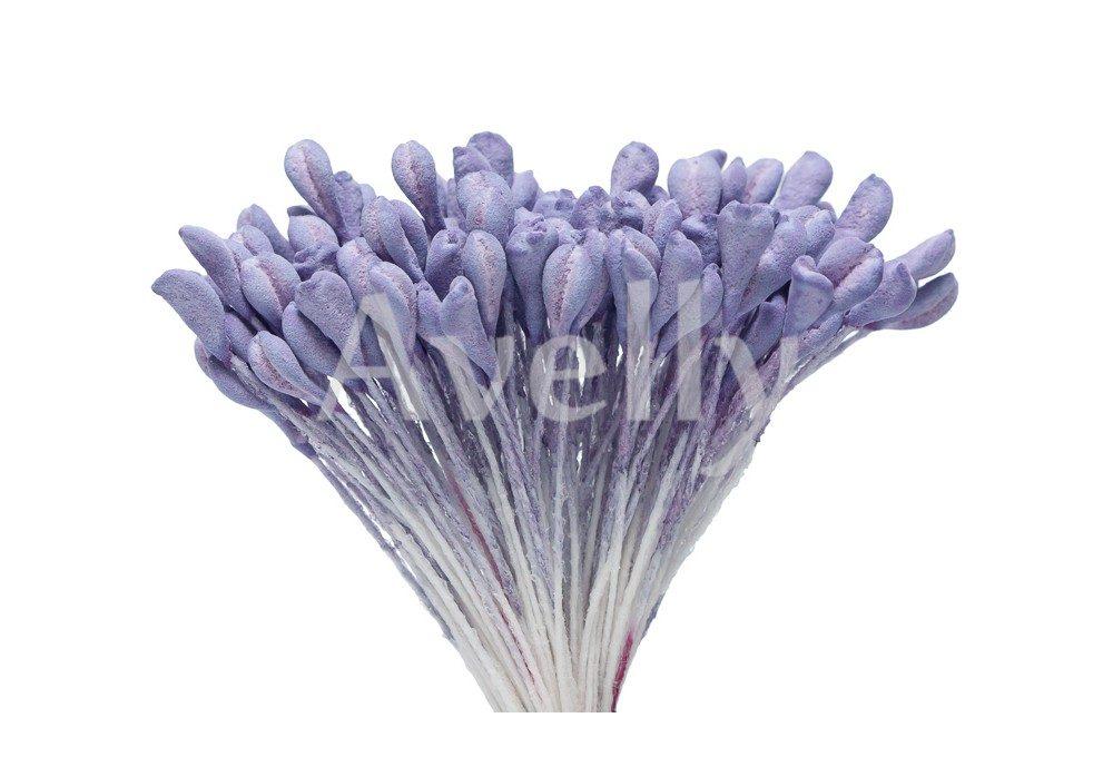 Тычинки для цветов лавандового цвета