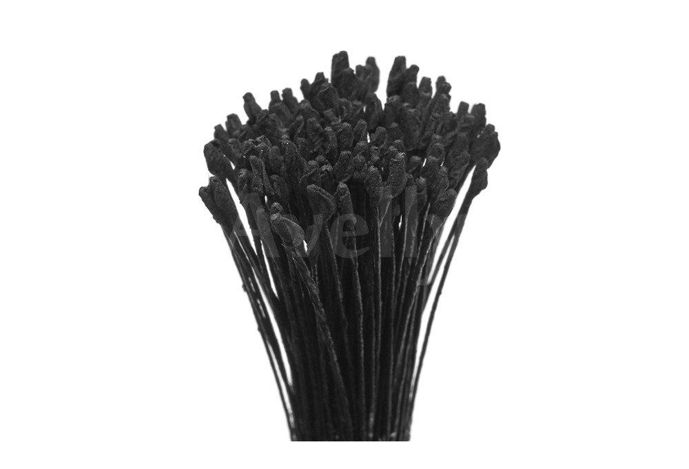 Японские тычинки черные для розы мелкие