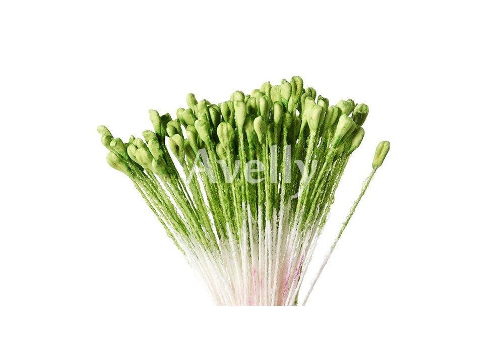 Тычинки для цветов травянисто-зеленые