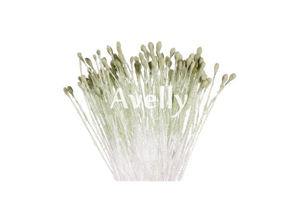 Тычинки для цветов пыльно-мятные