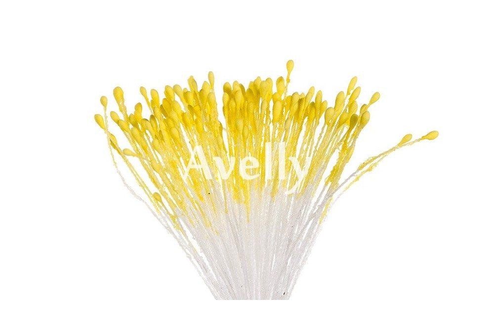 тычинки для цветов солнечно-желтые, мелкие, Китай
