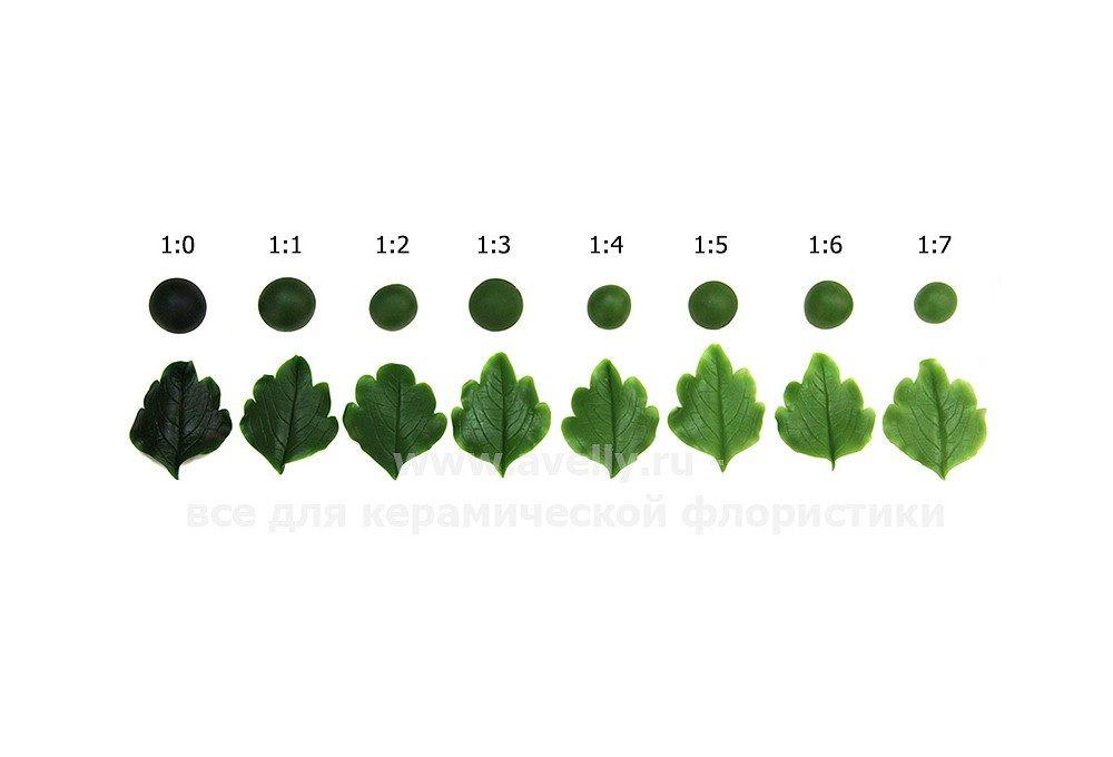 Тайская зеленая + Тайская классическая в разных пропорциях