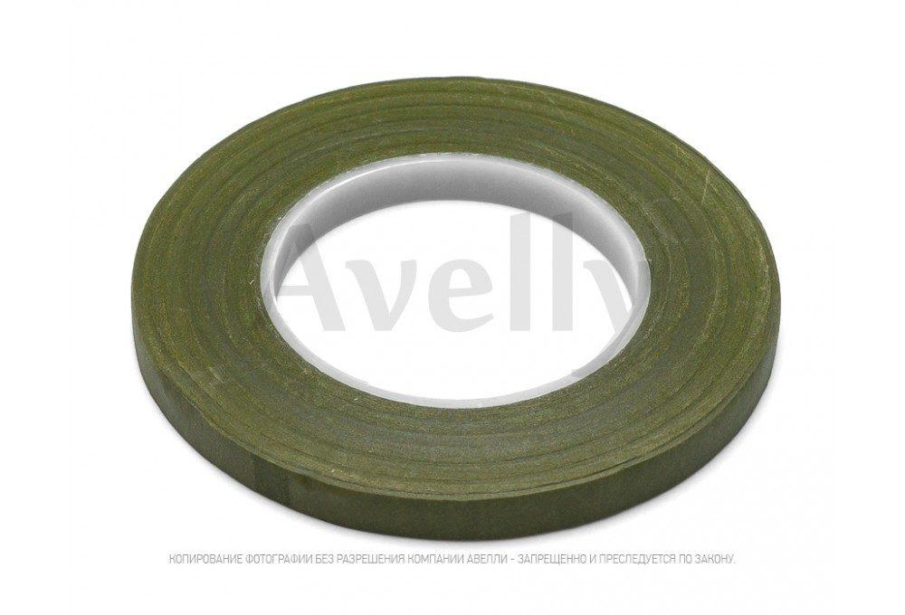 флористическая лента зеленый мох