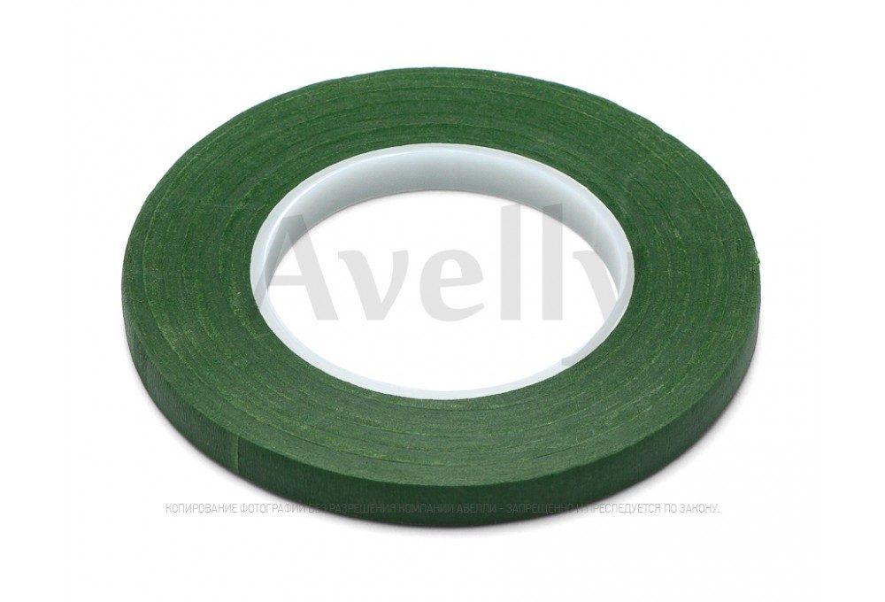 Тейп-лента зеленый газон узкая