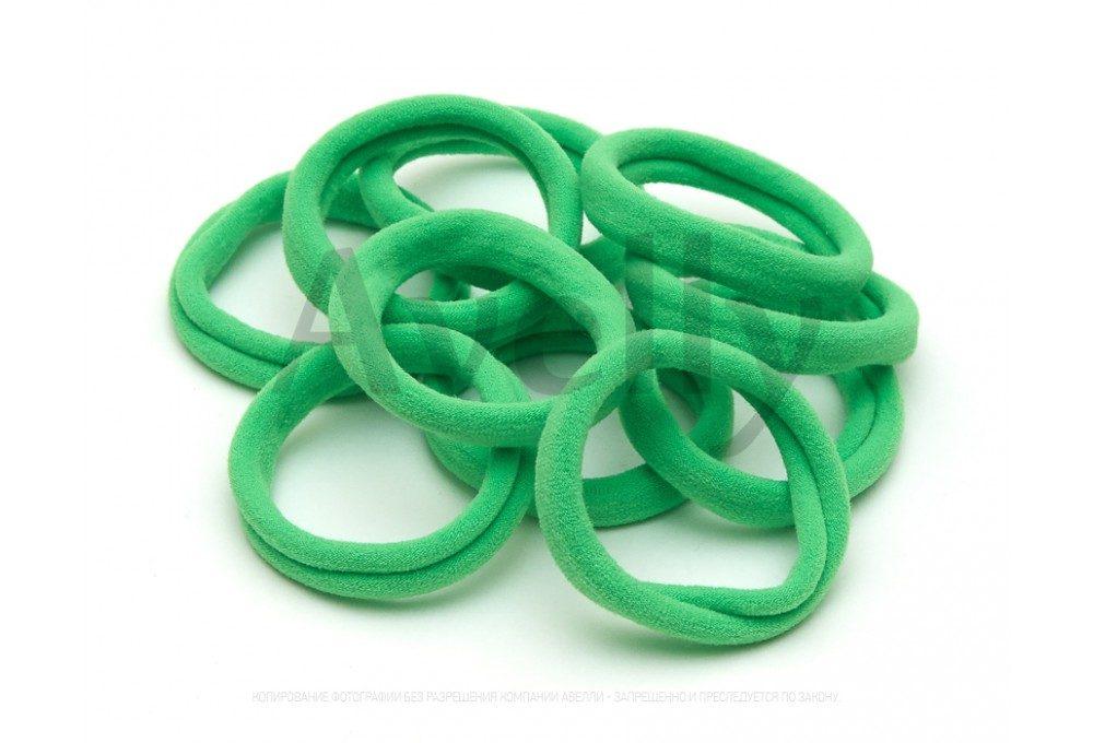резинки для волос зеленые
