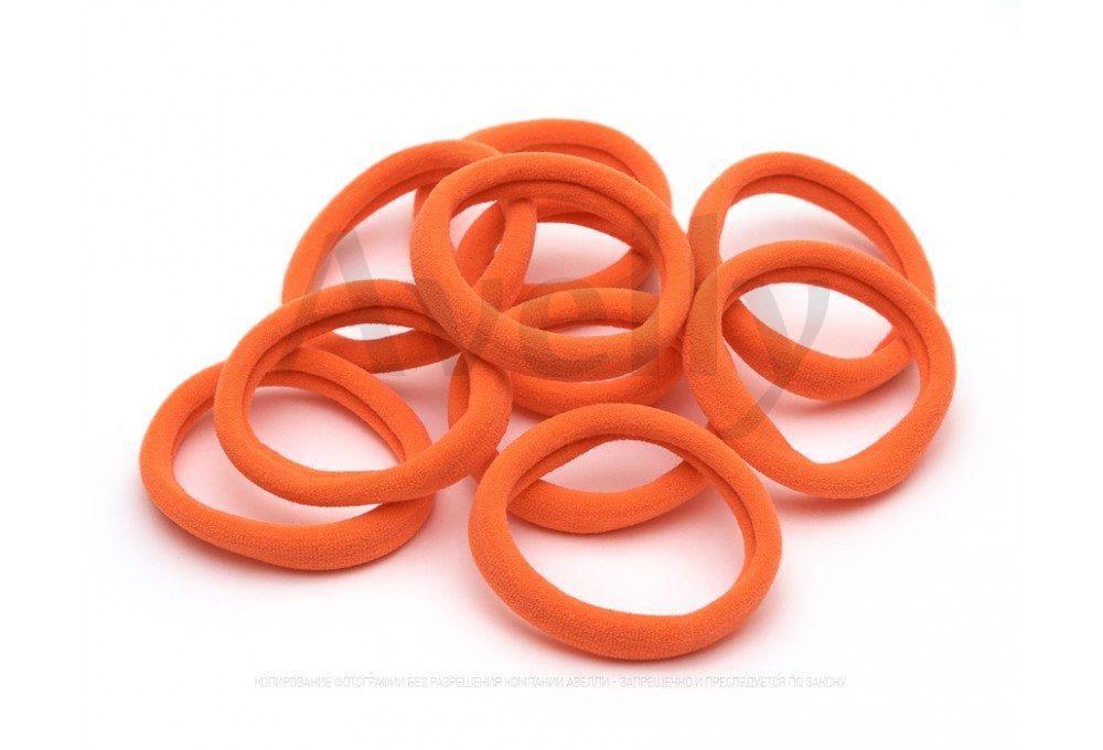 оранжевые неоновые резинки для волос