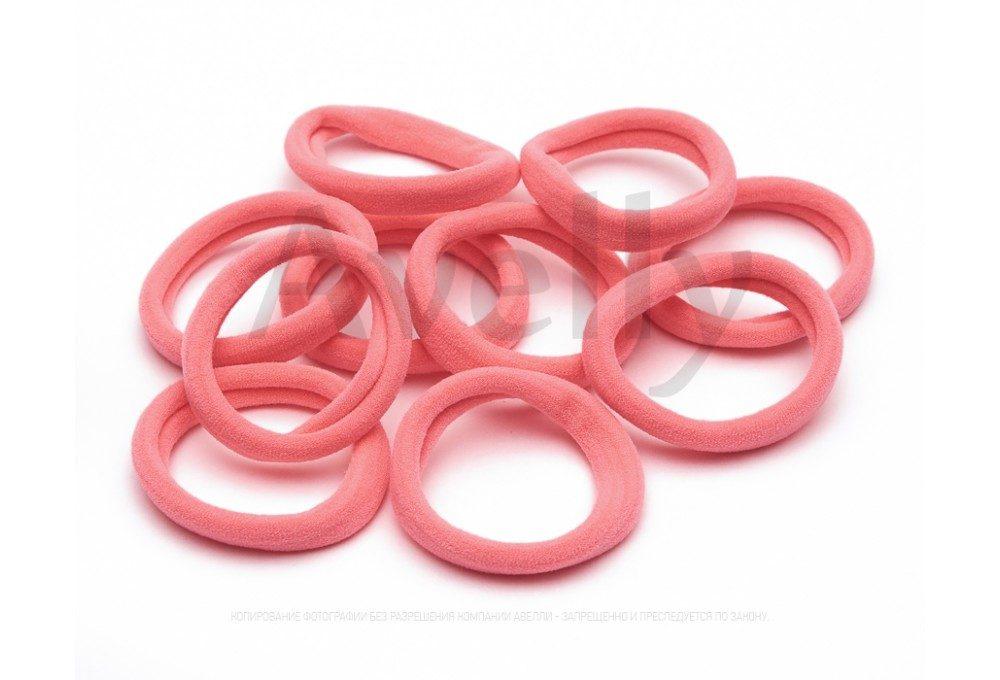 резинки для волос розовые неоновые