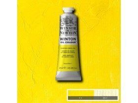 Масляная краска Лимонный кадмий (Cadmium Lemon Hue) №7, Winsor&Newton, 37 мл