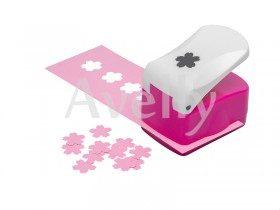 Фигурный дырокол для бумаги, цветок вишни, 12 мм