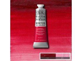 Масляная краска Малиновый ализарин перманентный (Permanent Alizarin Crimson) №1, Winsor&Newton, 37 мл