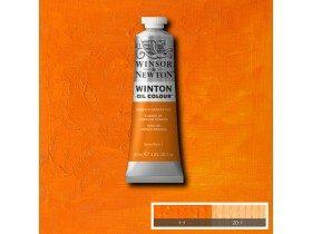 Масляная краска Оранжевый кадмий (Cadmium Orange Hue) №4, Winsor&Newton, 37 мл