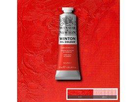 Масляная краска Красный кадмий (Cadmium Red Hue) №5, Winsor&Newton, 37 мл