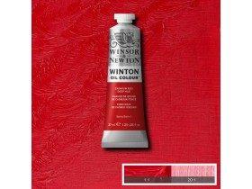 Масляная краска Насыщенно красный кадмий (Cadmium red deep hue) №6, Winsor&Newton, 37 мл