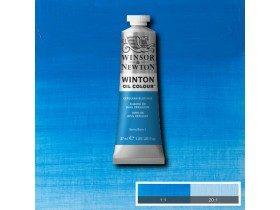 Масляная краска Лазурь (Cerulean Blue Hue) №10, Winsor&Newton, 37 мл