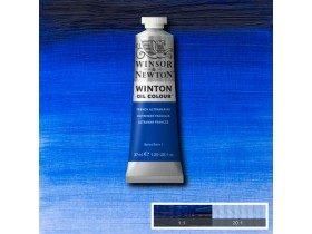 Масляная краска Французская ультра (French Ultramarine) №21, Winsor&Newton, 37 мл