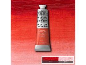 Масляная краска Герань перманентная (Permanent Geranium Lake) №22, Winsor&Newton, 37 мл