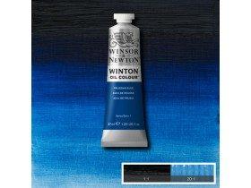 Масляная краска Берлинская лазурь (Prussian blue) №33, Winsor&Newton, 37 мл
