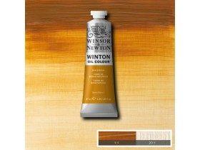 Масляная краска Сиена натуральная (Raw Sienna) №34, Winsor&Newton, 37 мл