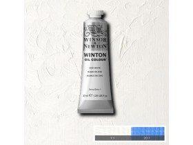 Масляная краска Цинковые белила (Zinc White) №45, Winsor&Newton, 37 мл