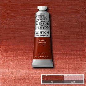 Масляная краска Индийский красный (Indian Red) №23, Winsor&Newton, 37 мл