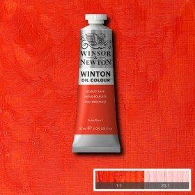 Масляная краска Алый (Scarlet Lake) №38, Winsor&Newton, 37 мл