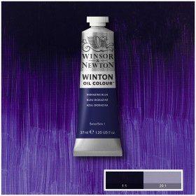 Масляная краска Фиолетовый синий (Dioxazine Blue), Winsor&Newton, 37 мл
