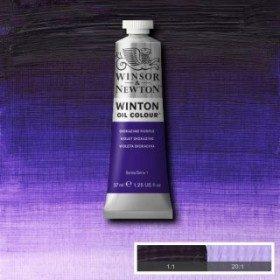 Масляная краска Пурпурный диоксазин (Dioxazine Purple) №47, Winsor&Newton, 37 мл