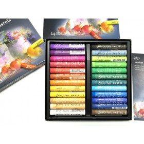Масляная мягкая пастель Gallery, Mungyo, 24 цвета