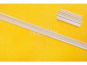 Проволока для цветов №14 в бумажной обмотке, белая, 76 см, 5 шт
