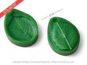 полиуретановый вайнер лист розы маленький