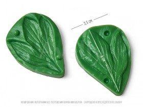 полиуретановый вайнер для фоамирана листья пиона