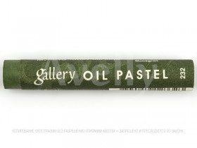 масляная пастель №232, зеленый мох