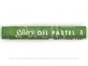масляная пастель цвет зеленый мох светлый