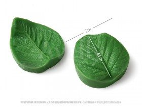 полиуретановый молд твердый лист малины большой