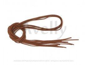 Замшевый шнур корица 3 мм, длина 1*5 метров