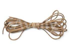 """Замшевый шнур """"ореховый"""", 2 мм, 10 метров"""
