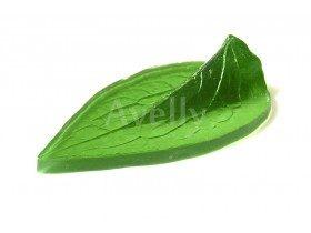 Текстурный молд лист клематиса большой