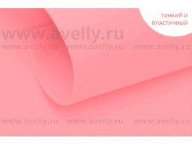 """Фоамиран корейский """"экстра"""", цвет розовый, 0,6 мм, 60*80 см"""