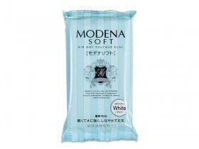 Японская полимерная глина Modena soft, белая, 150 г (2021)