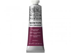Масляная краска Квинакридон темно-розовый (Quinacridone deep pink), Winsor&Newton, 37 мл