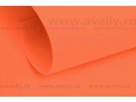 Фоамиран корейский, цвет морковный, 1 мм, 60*80 см