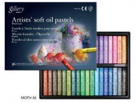 Масляная мягкая пастель Gallery, Mungyo, 36 цветов