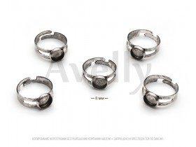 Основа для кольца серебряная универсальная
