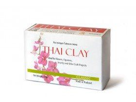 Тайская полимерная глина Thai Clay Classic, белая, 200 г (свежая)