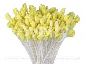 Японские тычинки для розы, желтого цвета, крупные